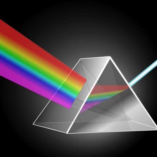como hacer un arco iris con prisma